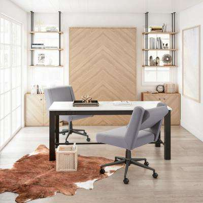Brix Light Gray Office Chair