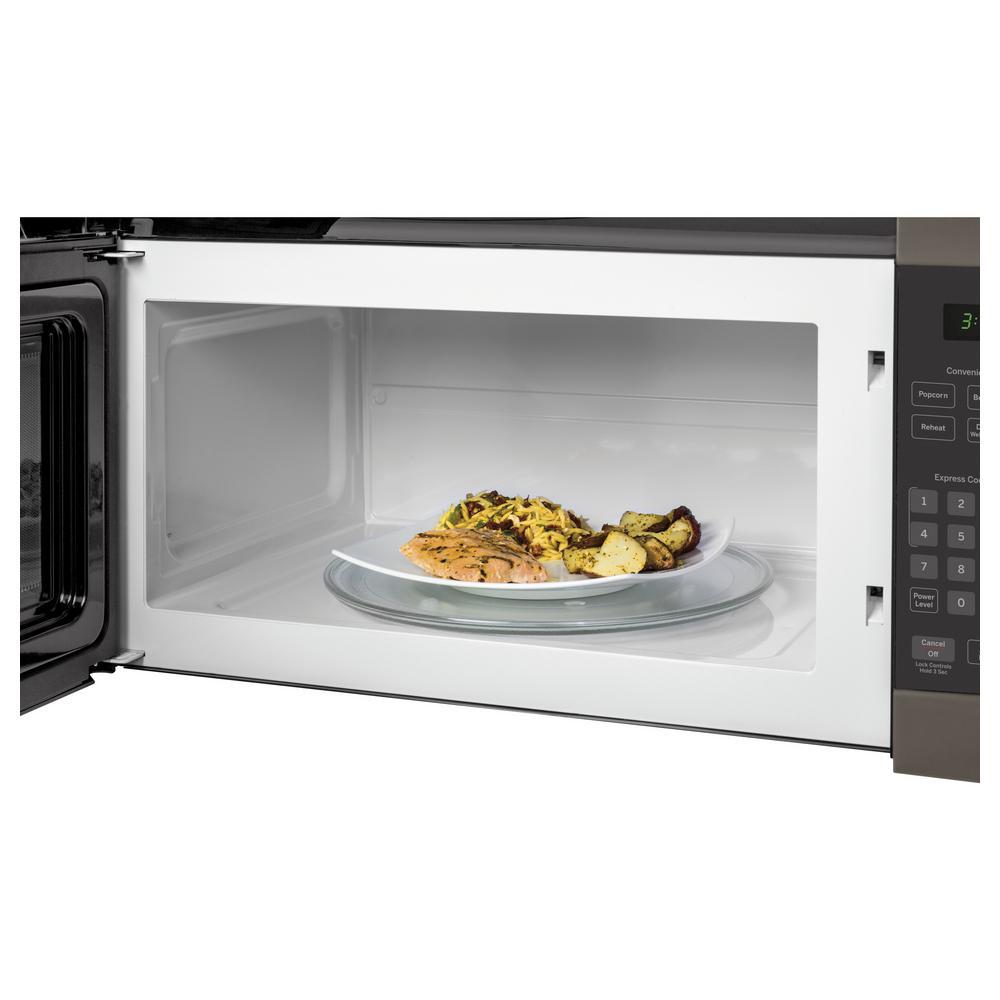 1.6 cu. ft. Over the Range Microwave in Slate, Fingerprint Resistant