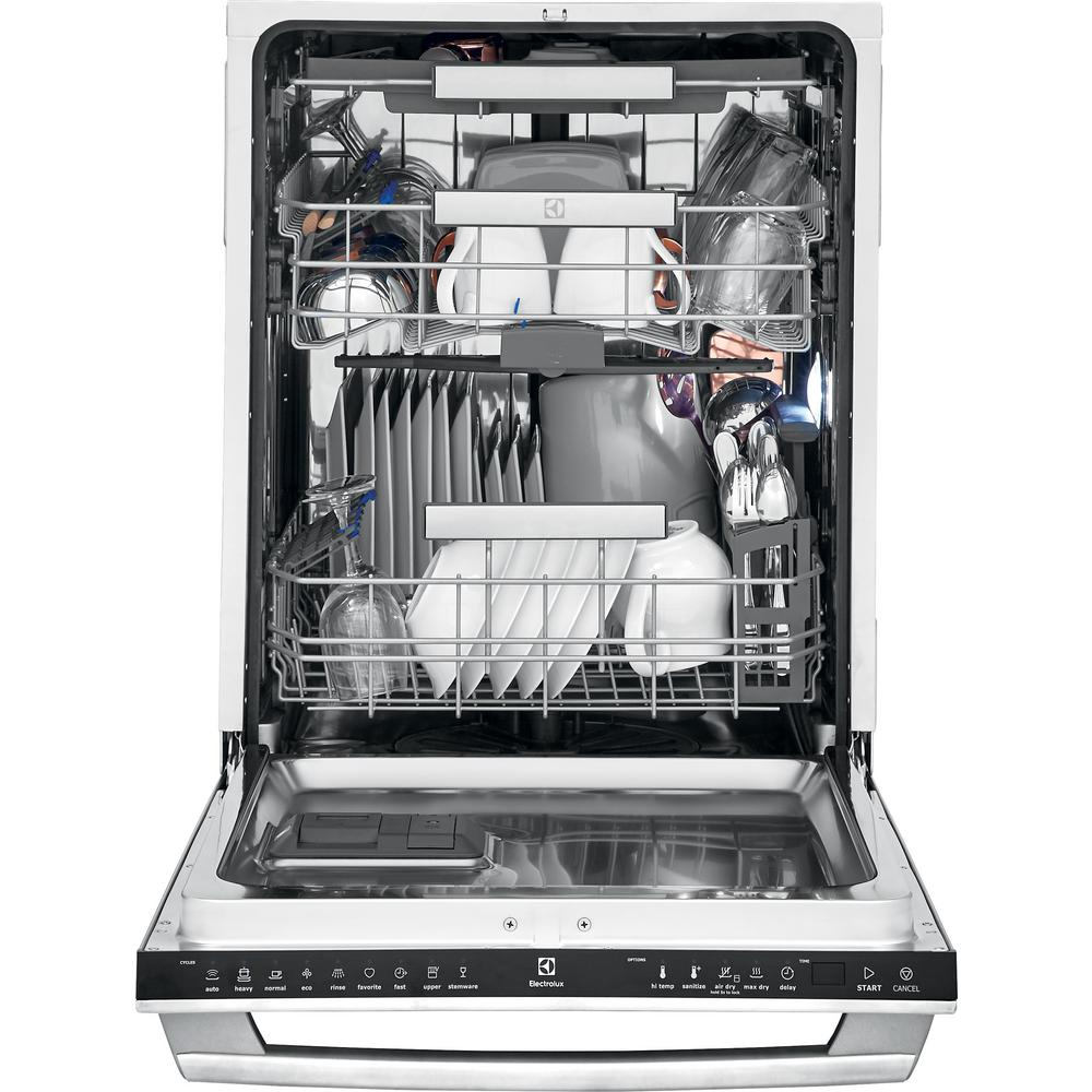 Electrolux Iq Touch Top Control Tall Tub Dishwasher In Stainless