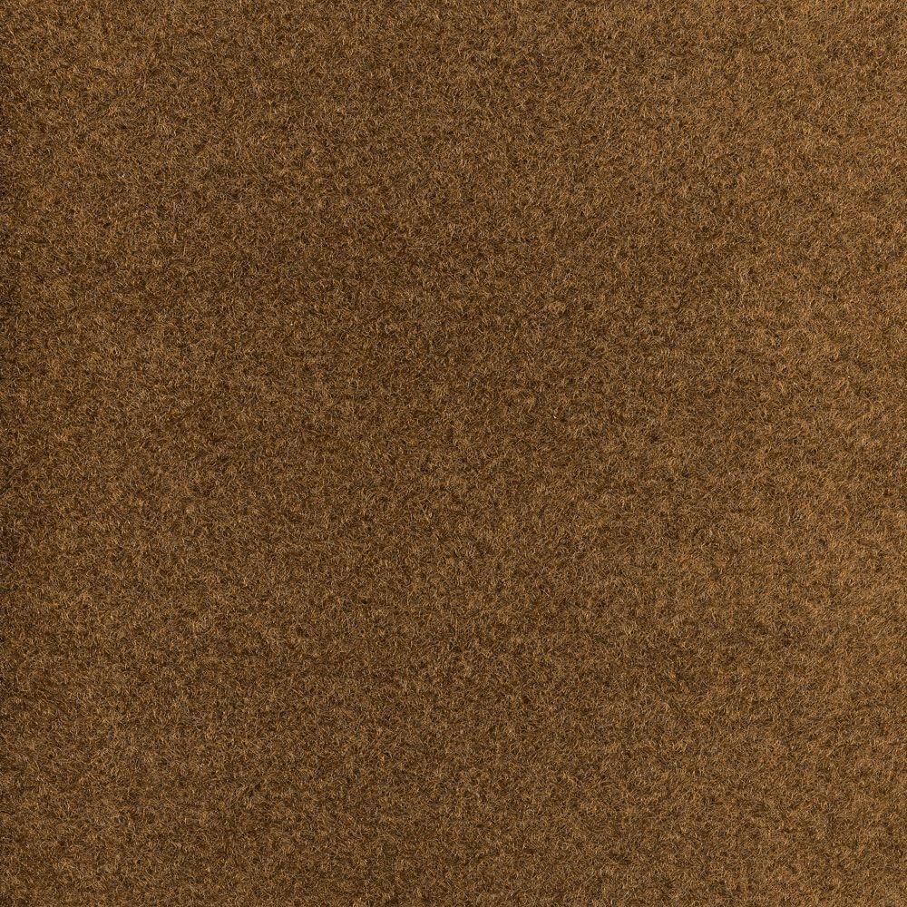 Trafficmaster Stratos Brown Texture 18 In X 18 In Carpet