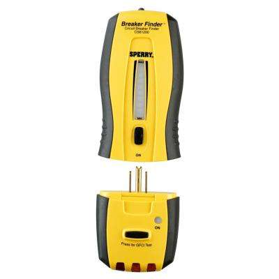 Circuit Tracker Circuit Breaker Finder/Locator and GFCI Tester