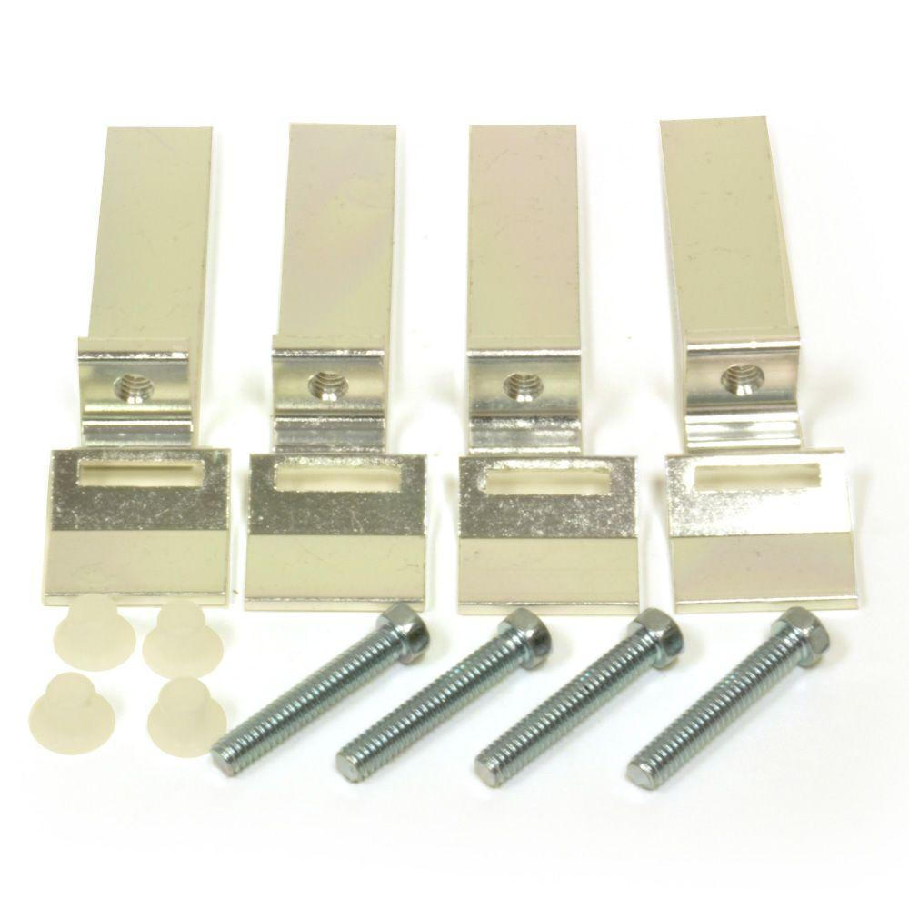Kitchen Sink Clips: DANCO Sink Clips For Tile Counter (4-Pack)-88488