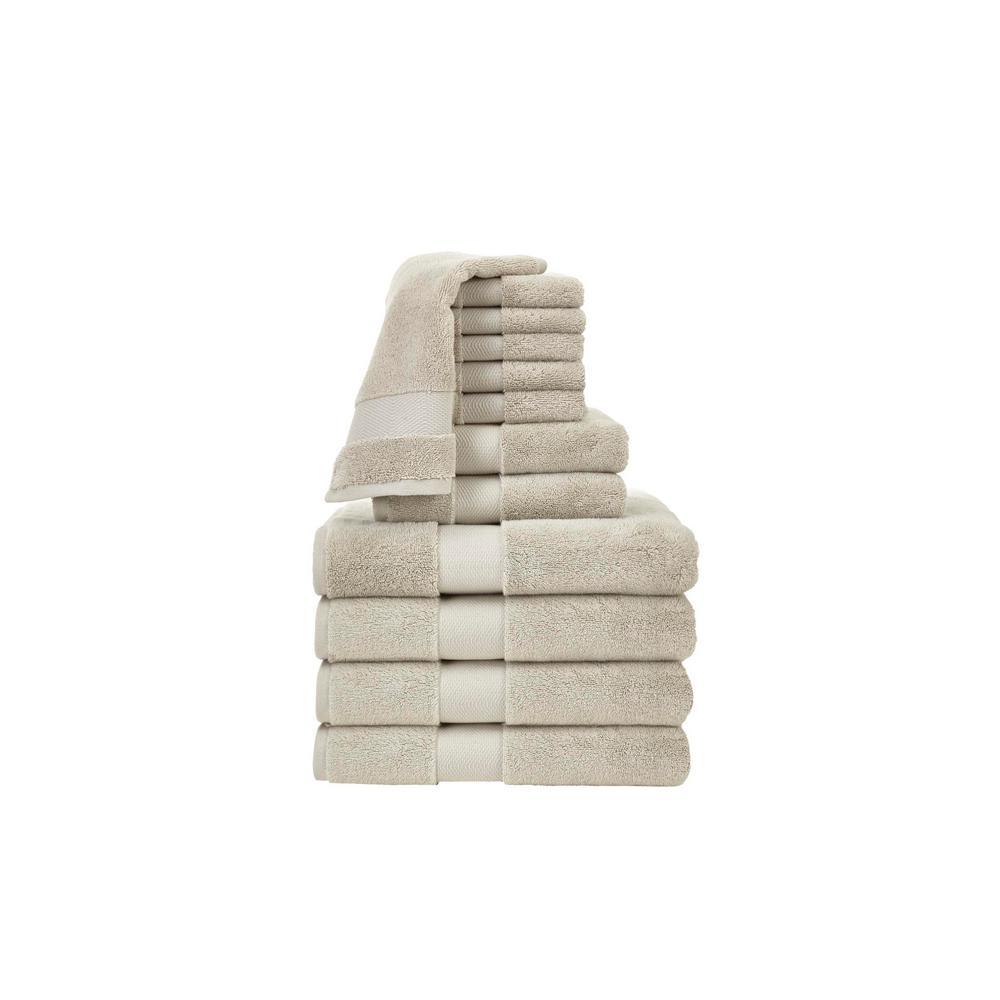 Plush Soft 12-Piece Towel Set