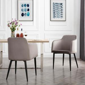 AC Pacific Jason Grey Modern Living Room Accent and Dining ...