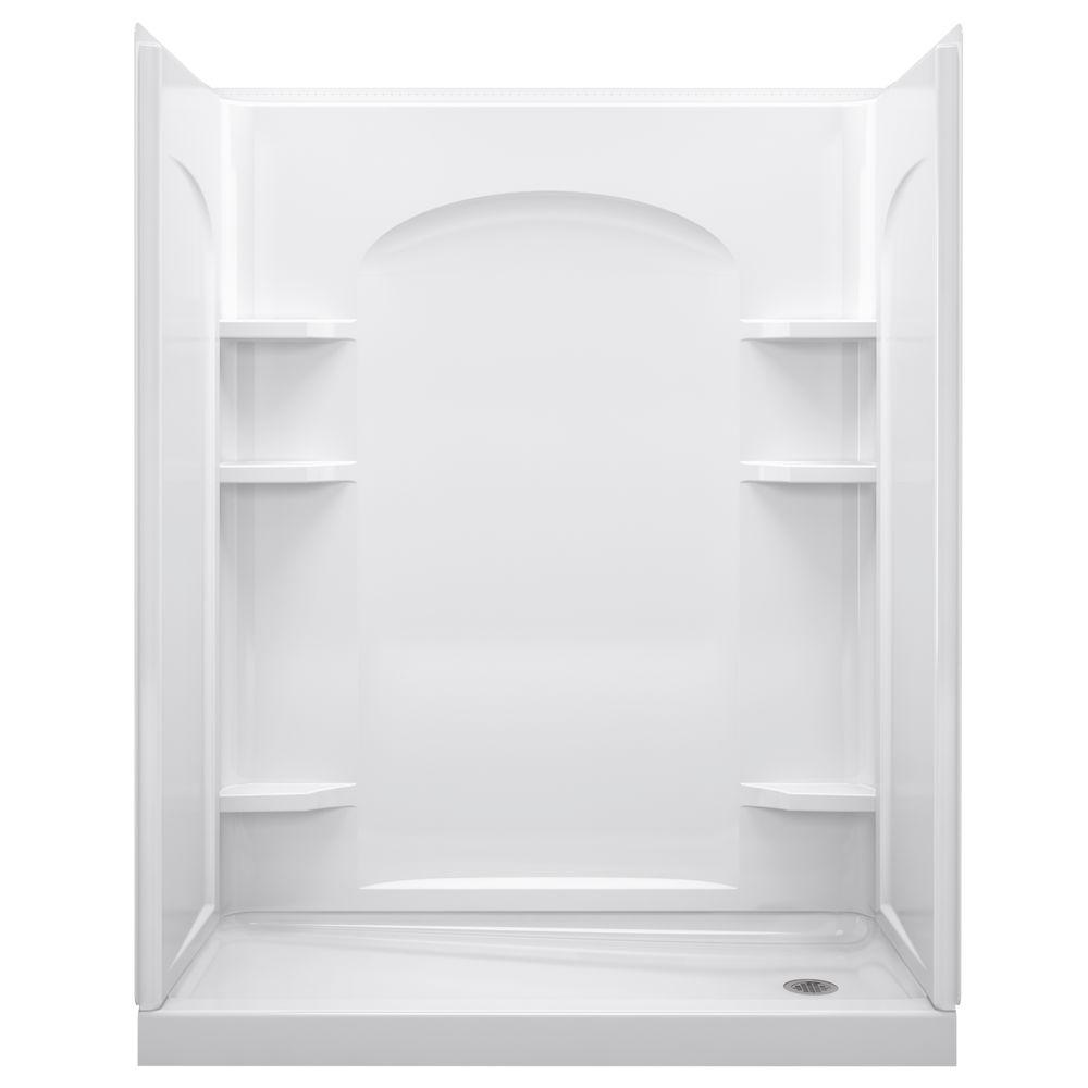 STERLING Ensemble 32 in. x 60 in. x 74-1/2 in. Shower Stall in ...