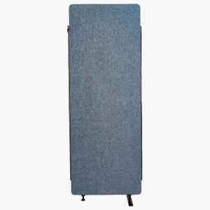 Reclaim 66 in. Pacific Blue 1-Expansion Panel Room Divider
