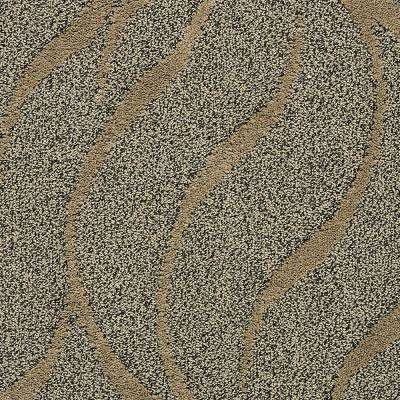 Carpet Sample - Framed Artwork - Color Desert Sand Pattern 8 in x 8 in.