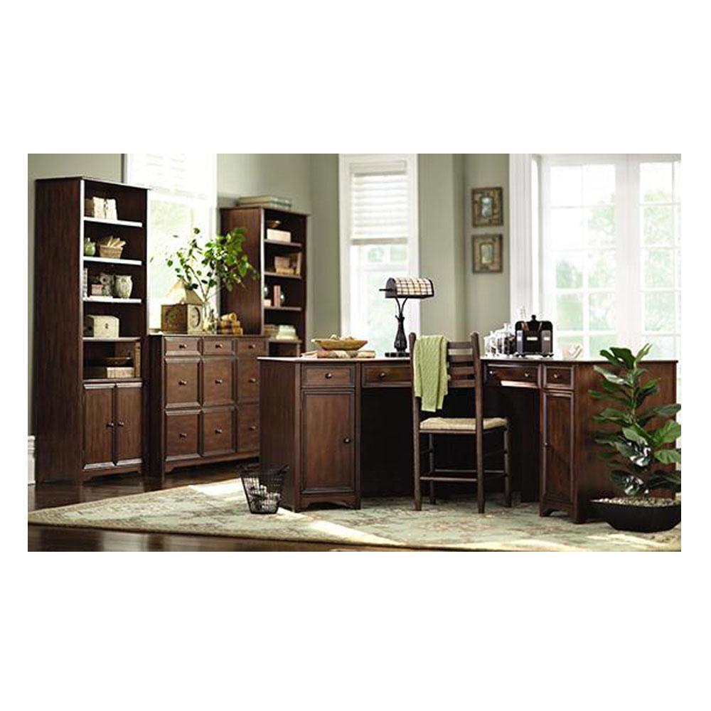 Home Decorators Collection Oxford Chestnut Open Bookcase