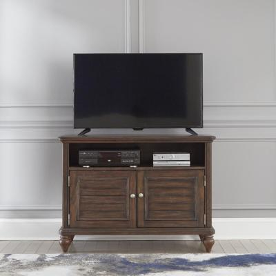 Southport Dark Aged Oak Brown TV Stand