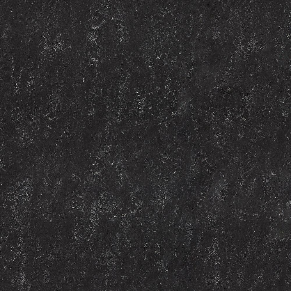 Marmoleum Black 9.8 mm Thick x 11.81 in. Wide x 11.81 in. Length Laminate Flooring (6.78 sq. ft. / case)