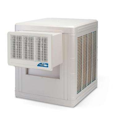5000 CFM 2-Speed Front Discharge Window Evaporative Cooler for 1600 sq. ft. (with Motor)