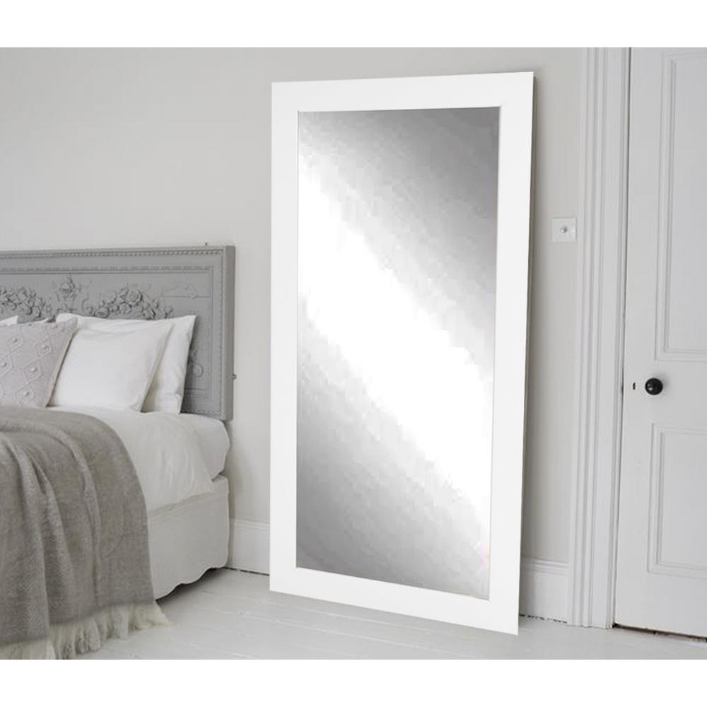 Designer Interior White 32 in. x 65.5 in. Tall Mirror