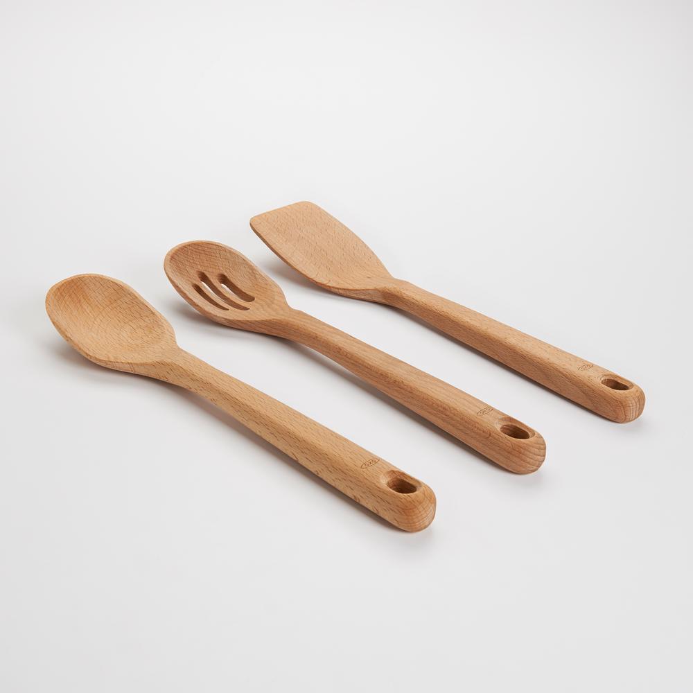 Good Grips Wooden Utensil Set (Set of 3)