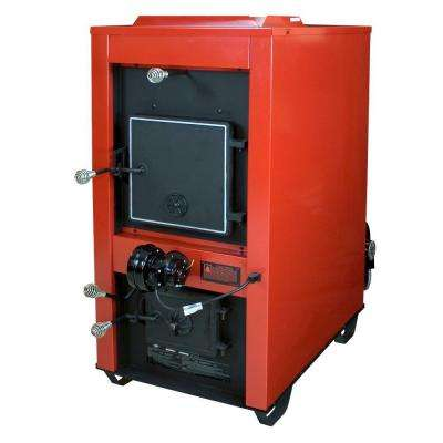 3,000 sq. ft. Coal Only Warm Air Furnace with Dual 800 CFM Blowers