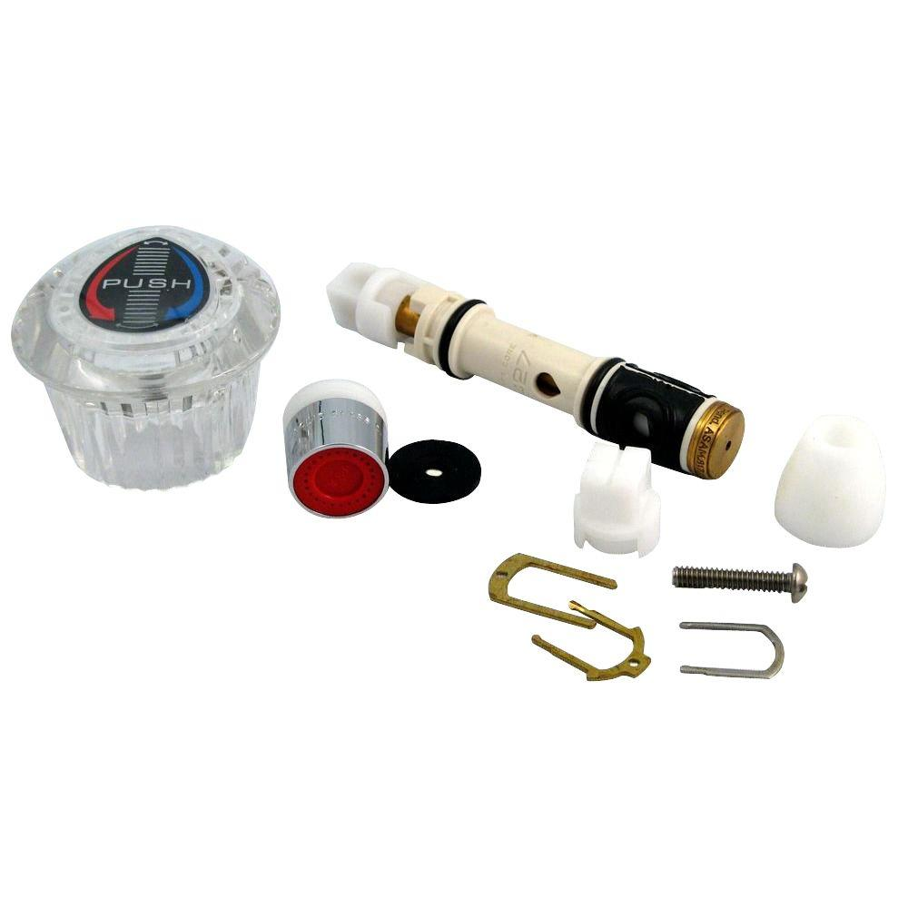 JAG PLUMBING PRODUCTS MOEN Single Lever Faucet Cartridge Repair Kit ...