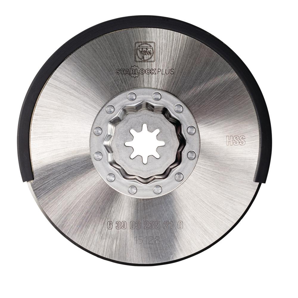 4 in. High-Speed Steel Circular Blade Starlock Plus