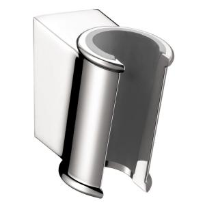 Attractive Hansgrohe Porter C Hand Shower Holder In Chrome 28324000   The Home Depot