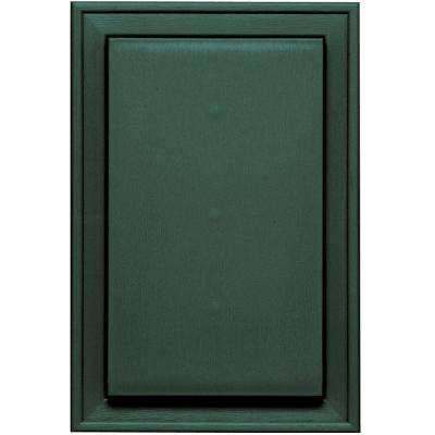 8.25 in. x 12.0625 in. #028 Forest Green Jumbo Universal Mounting Block
