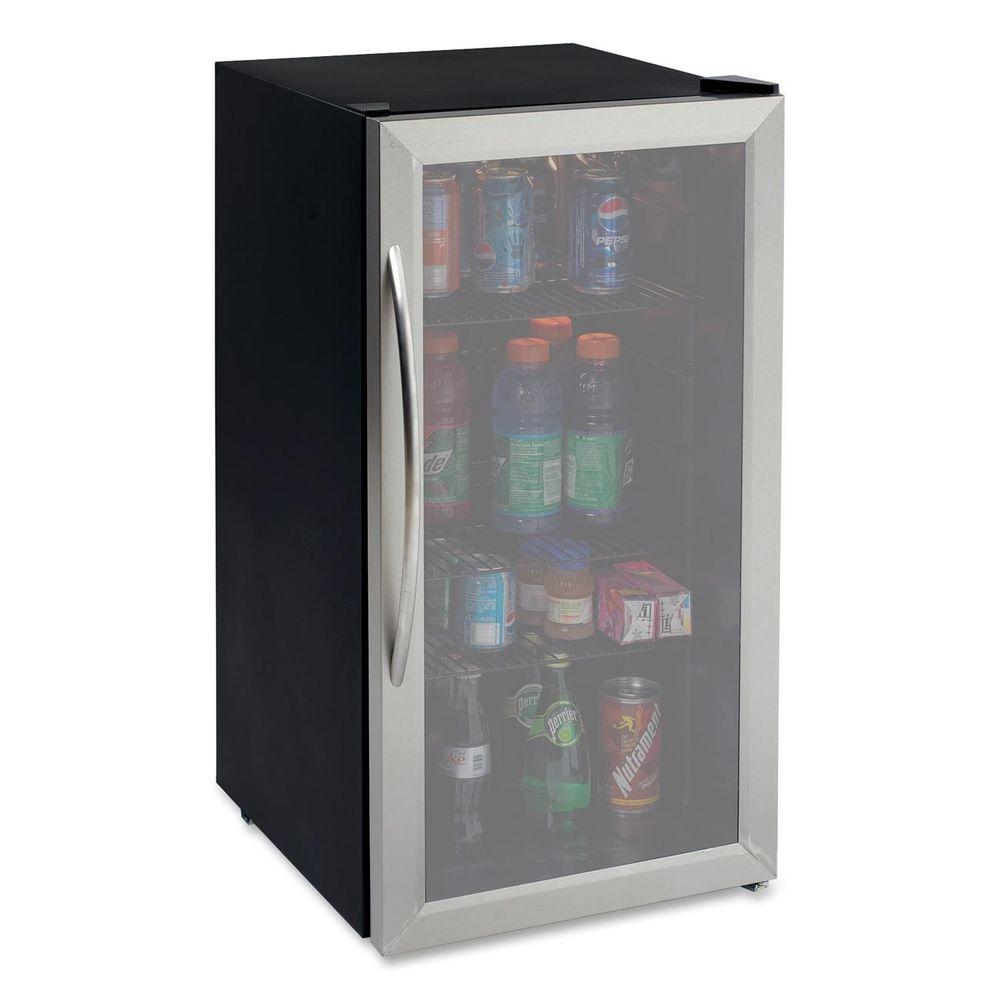 Avanti 3.1 cu. ft. Stainless Steel Beverage Cooler