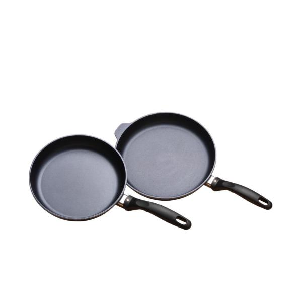 Swiss Diamond Classic Series 9.5 in. and 11 in. Non-Stick Fry Pan Set