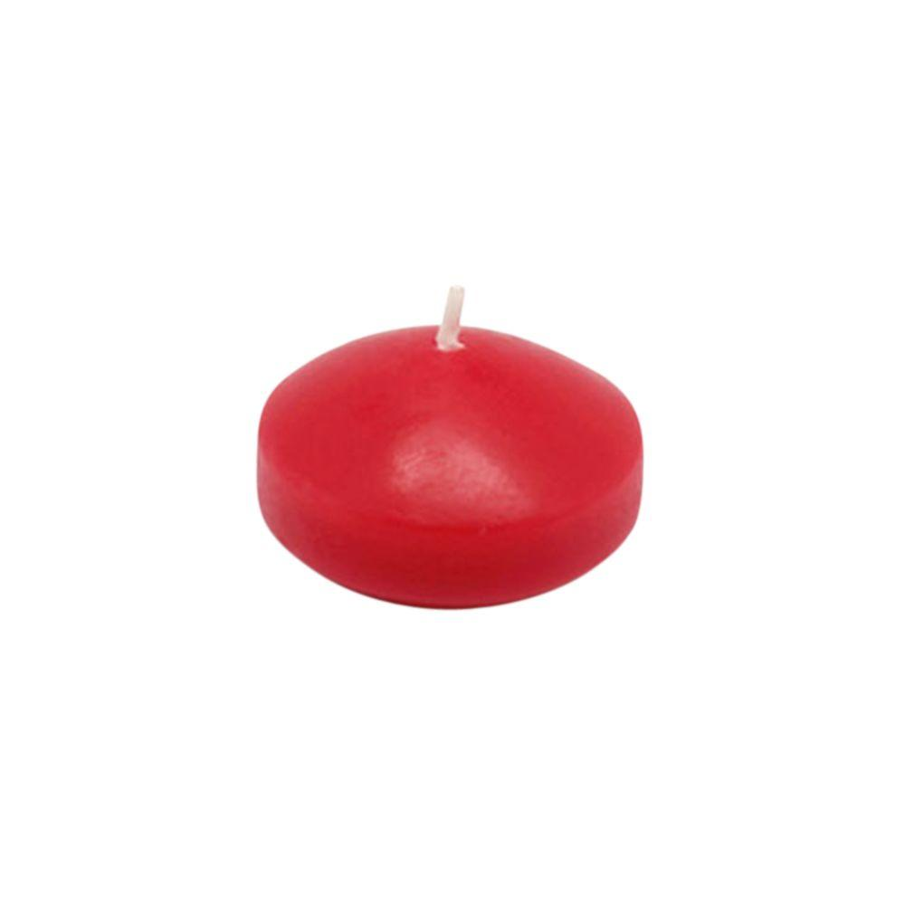 Zest Candle 1.75 in. Red Floating Candles (24-Box)