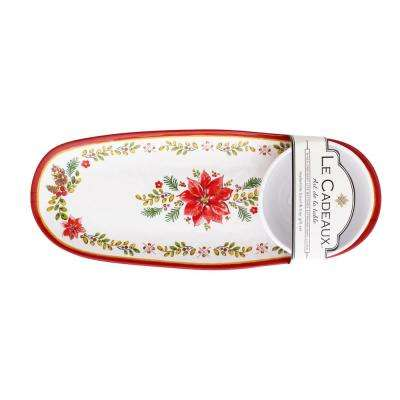 Noel 2-Piece Bowl and Tray Set