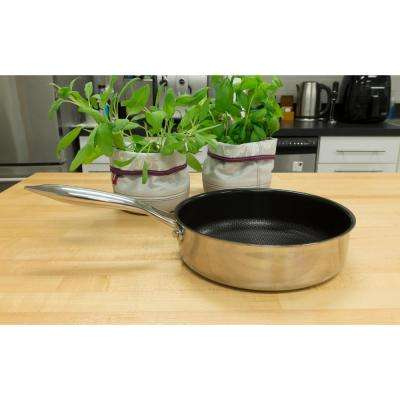Stainless Steel Skillet with Nonstick Coating