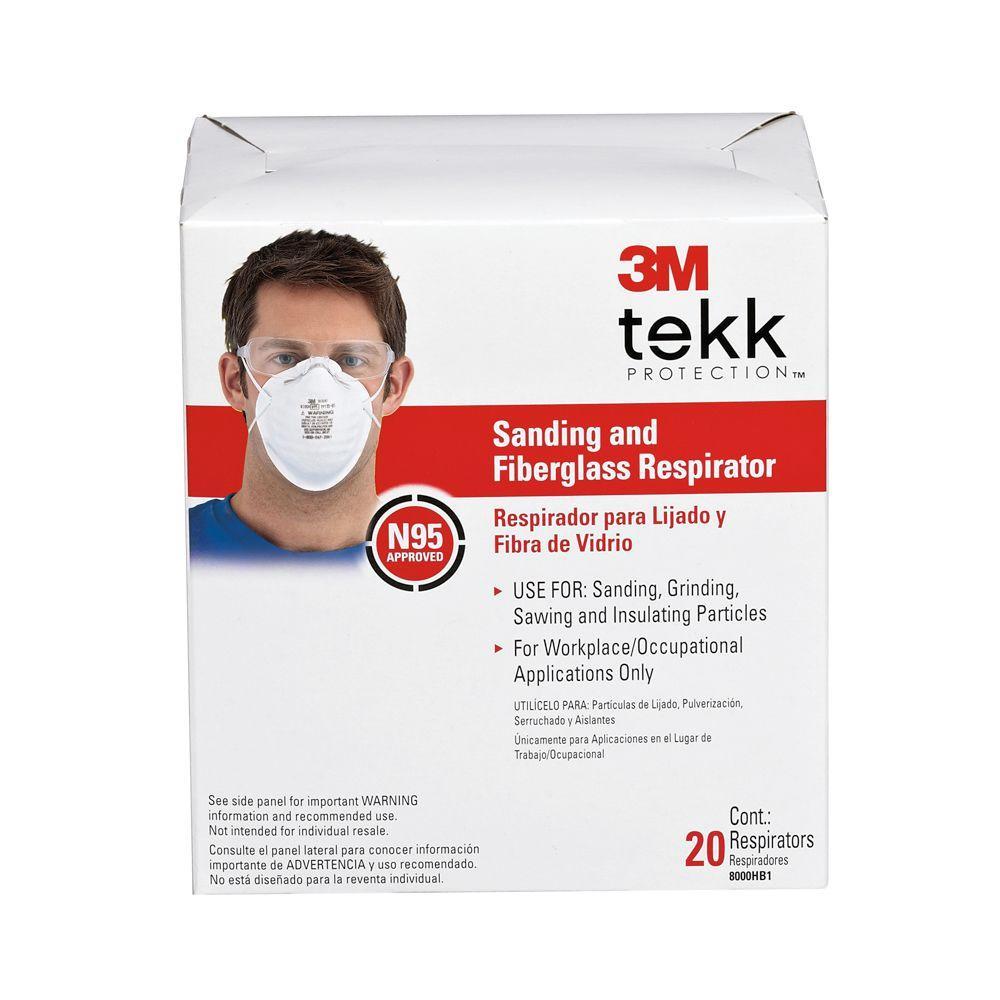 3M Sanding and Fiberglass Respirator (20-Pack)