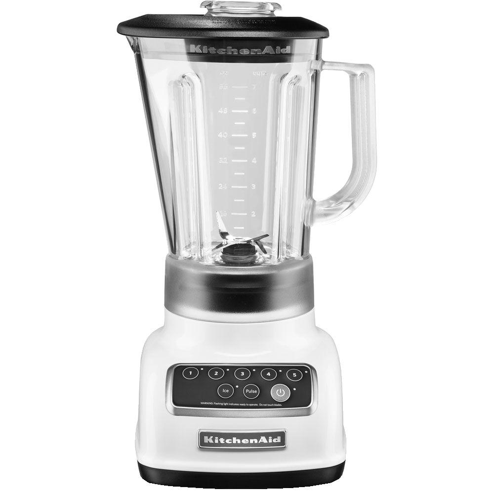 KitchenAid 5-Speed Blender-KSB1570WH - The Home Depot