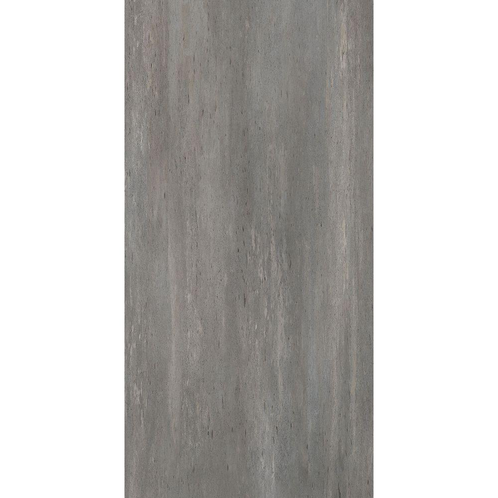TrafficMASTER Allure 12 in. x 24 in. Grey Beton Luxury Vinyl Tile ...