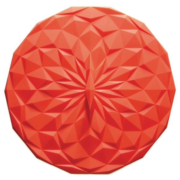 GIR Round 12.5 in. Suction Lid in Red GIRLD1103RED