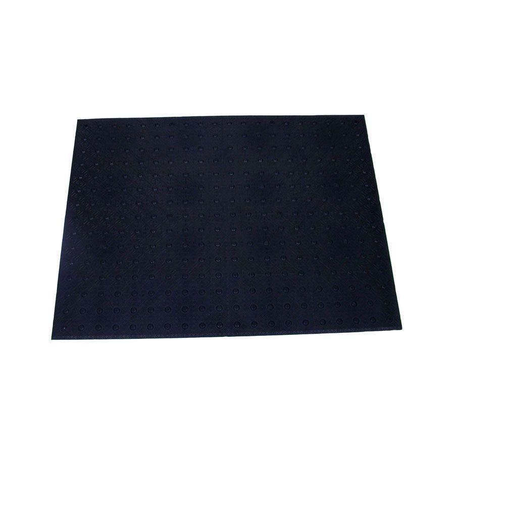 DWT Tough-EZ Tile 3ft. x 4 ft. Black Detectable Warning Tile