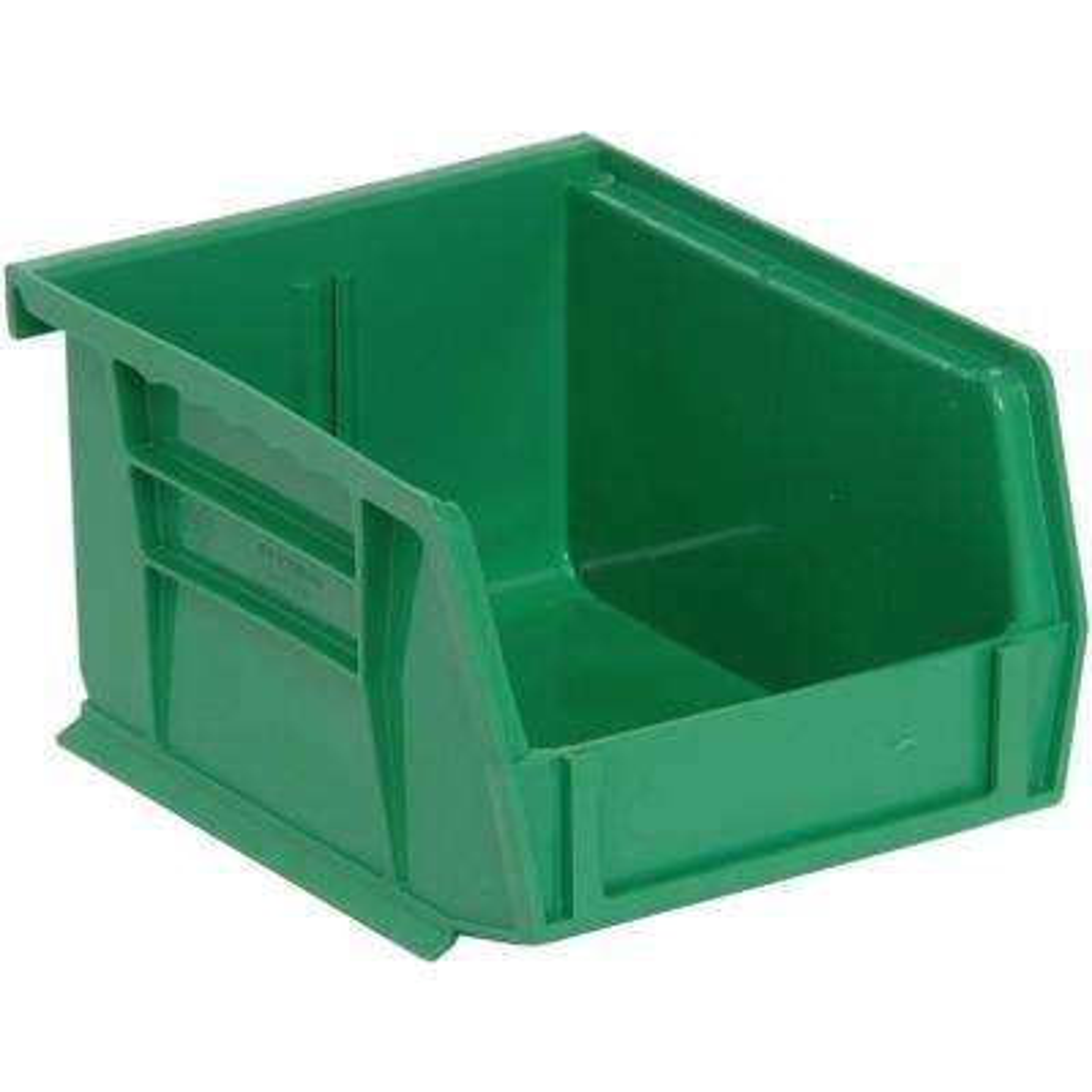 1.0 Gal. 5 in. L x 4-1/8 in. W x 3 in. H Ultra Series Stack and Hang Bin in Green
