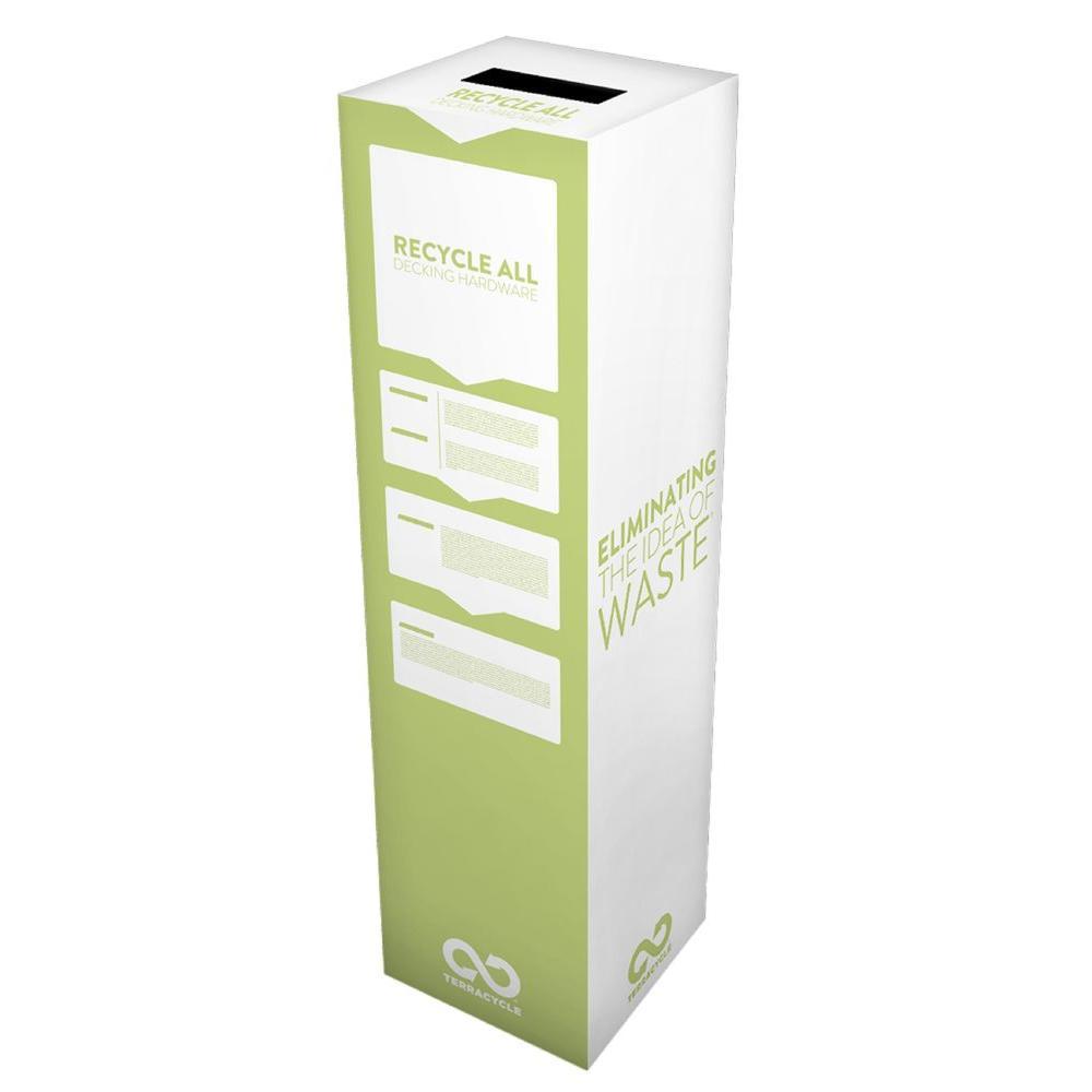 6 Gal. Decking Hardware Zero Waste Box Recycling Bin