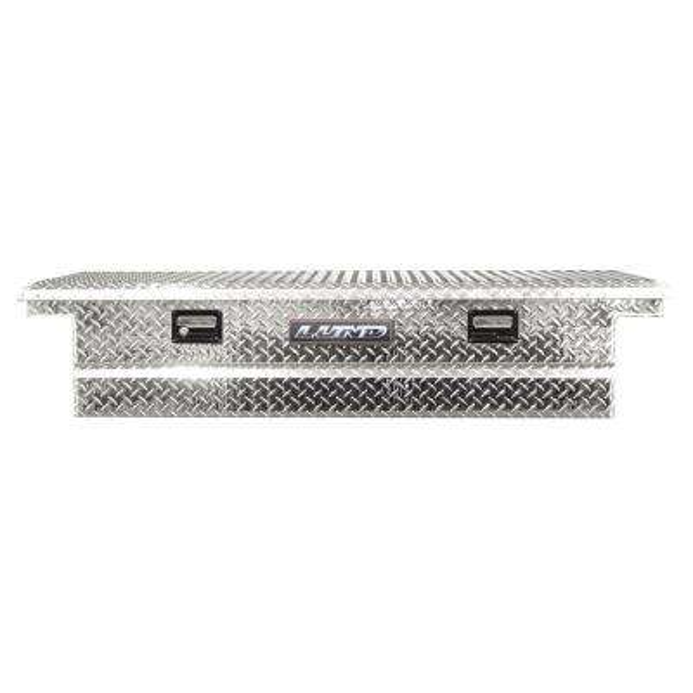 70.13 in Diamond Plate Aluminum Full Size Crossbed Truck Tool Box