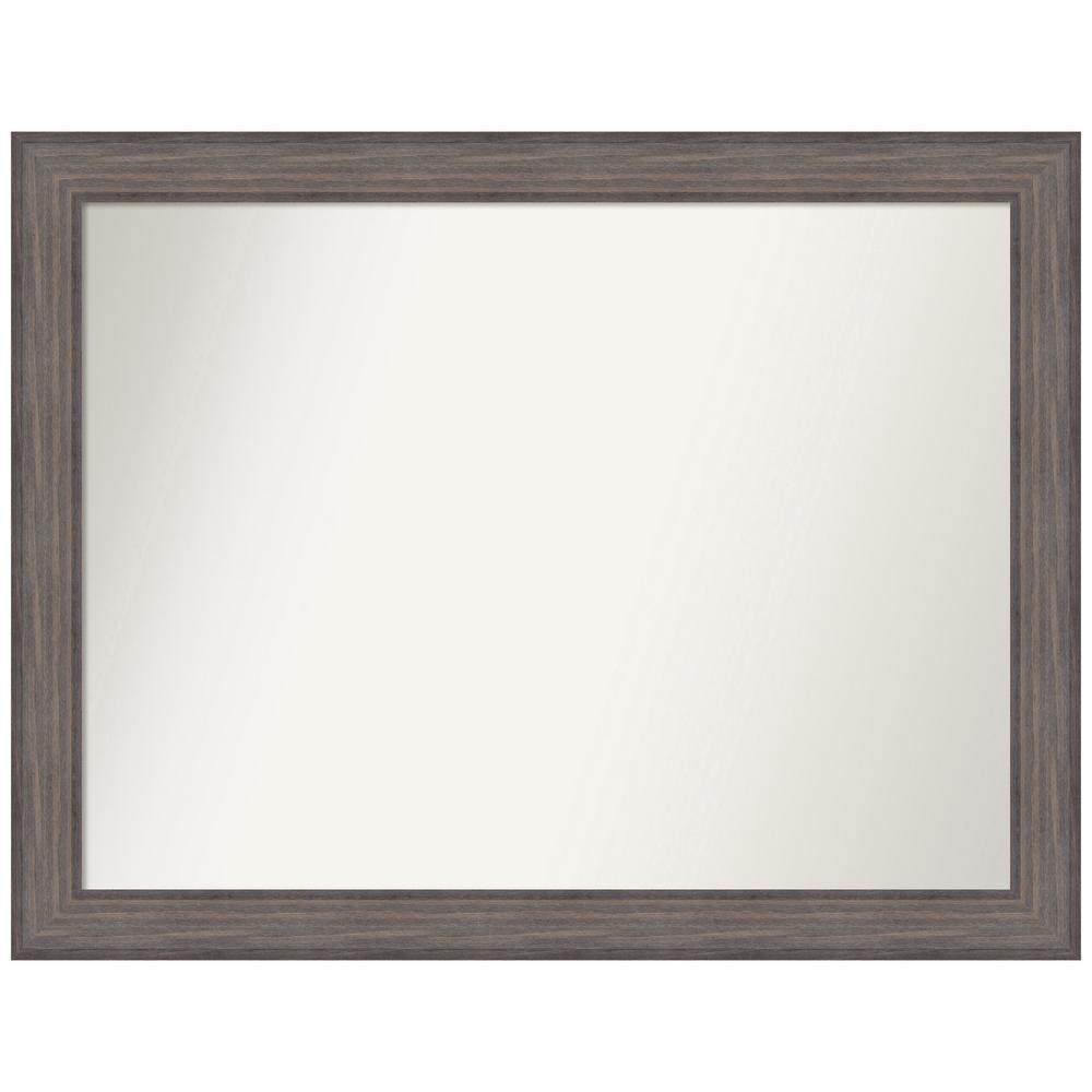 Amanti Art Choose Your Custom Size 44.25 in. x 34.25 in. Country Barnwood Decorative Wall Mirror was $559.95 now $274.93 (51.0% off)