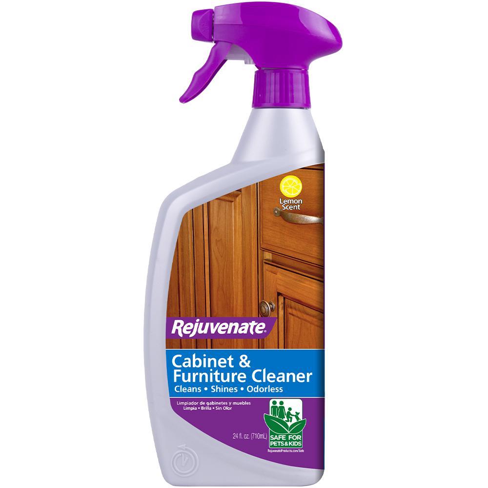 Rejuvenate 24 Oz Cabinet And Furniture Cleaner Rj24cc The Home Depot