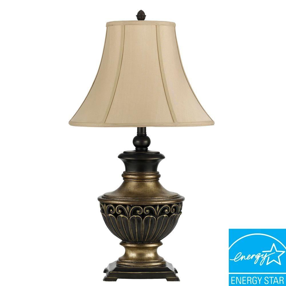 CAL Lighting 30 in. Two Pack Lamps with KD Shade-DISCONTINUED