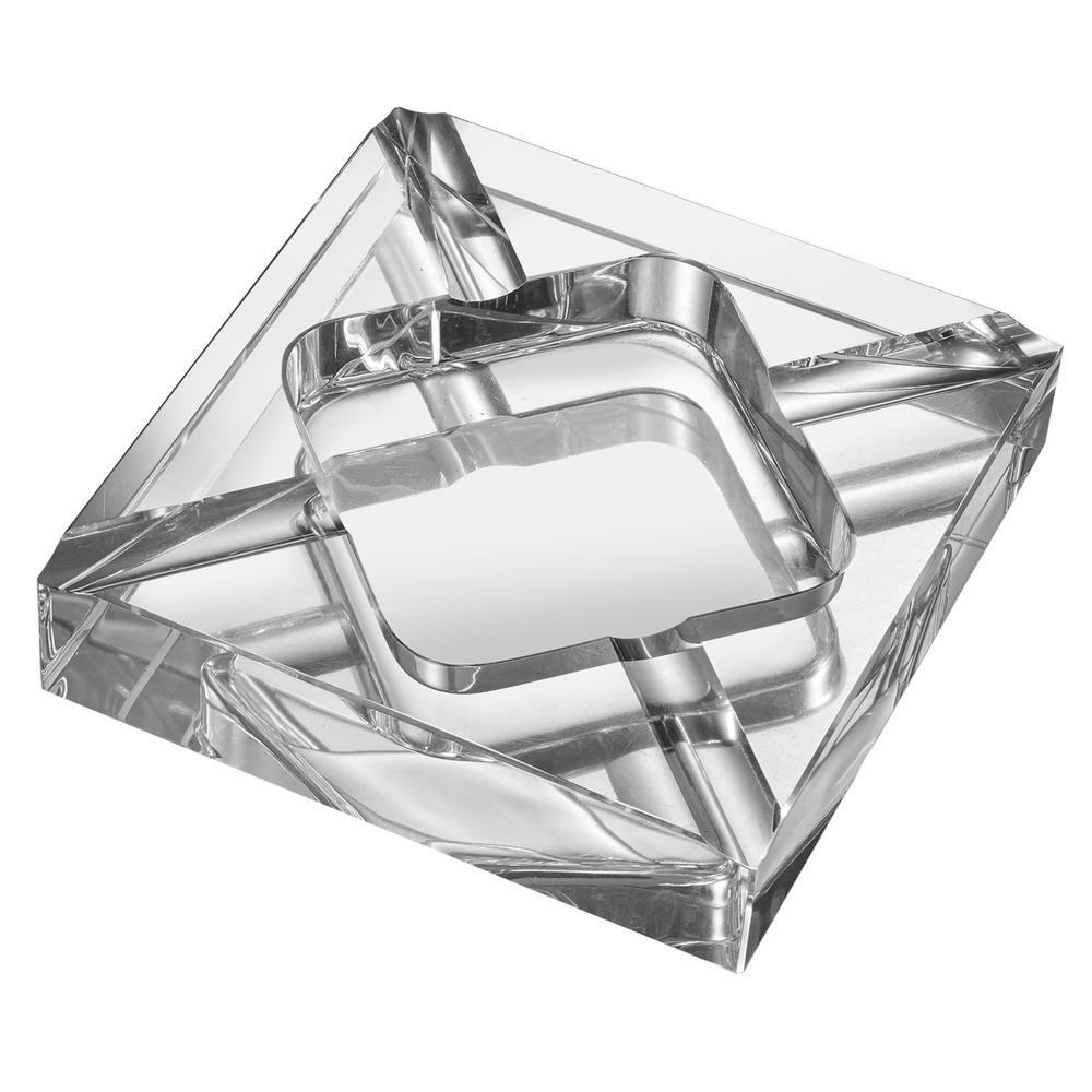 Hyperion Square Crystal Cigar Ashtray