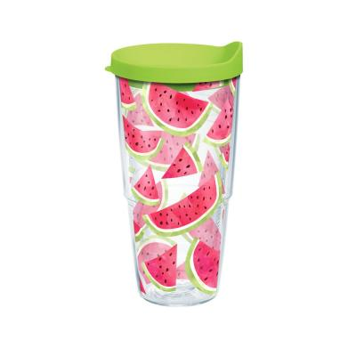 Watermelon Slice Trend 24 oz. Tumbler with Lid