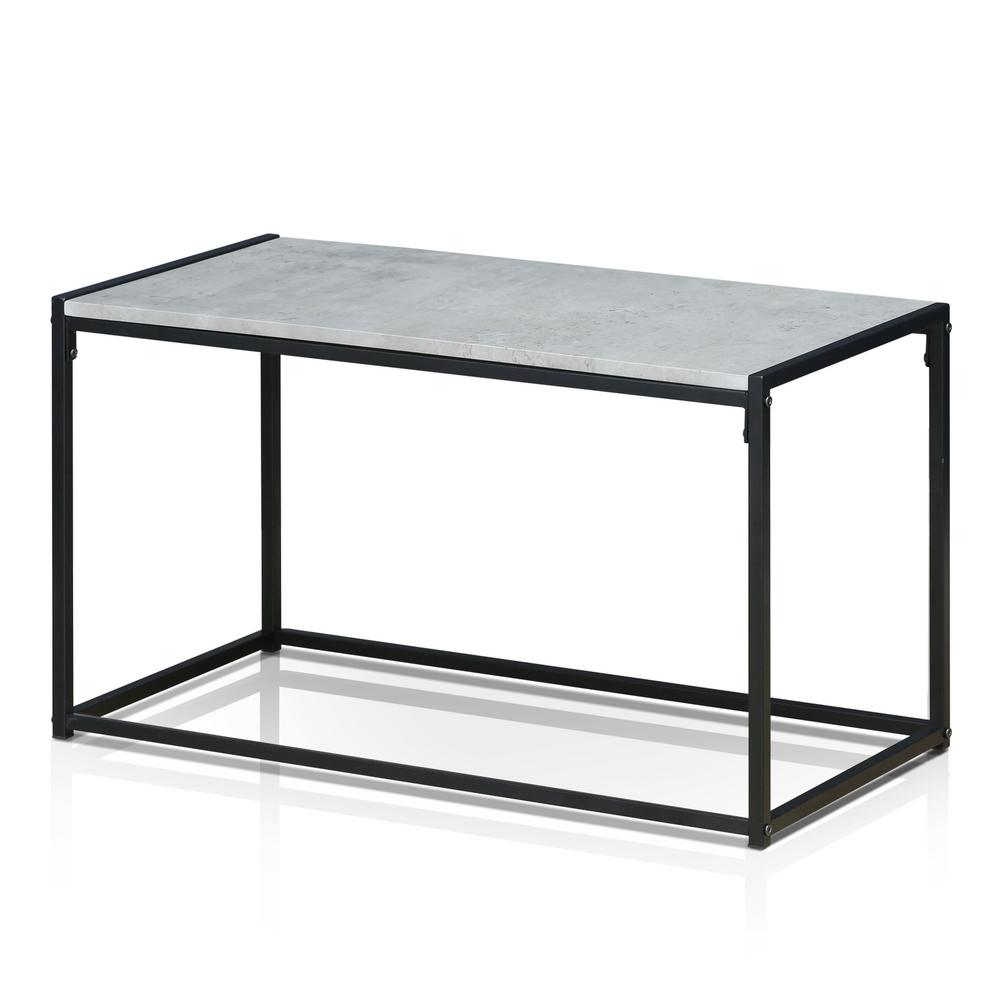 Furinno Ernst Modern Stone Coffee Table