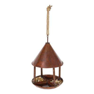 21 in. Birdfeeder Hut