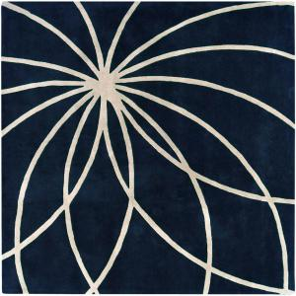 Artistic Weavers Aisha Dark Blue 9 ft. 9 inch Square Area Rug by Artistic Weavers