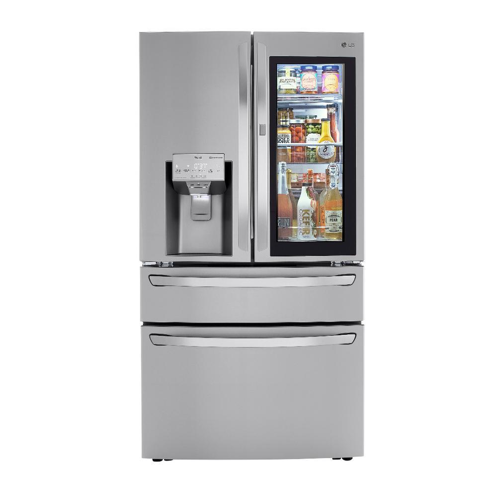 29.7 cu. ft. Smart French Door Refrigerator, InstaView Door-In-Door, Dual and Craft Ice in PrintProof Stainless Steel