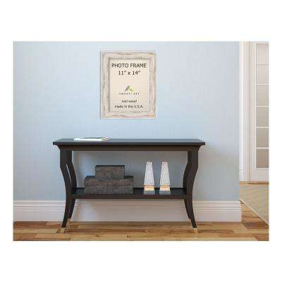 Alexandria 11 in. x 14 in. Whitewash Picture Frame
