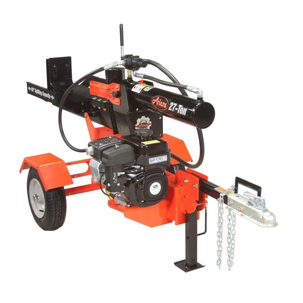 Ariens 27-Ton 169cc Gas Log Splitter-917001 - The Home Depot