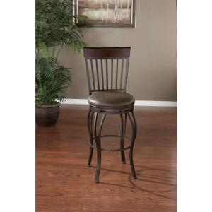 American Heritage Torrance 30 inch Pepper Cushioned Bar Stool by American Heritage