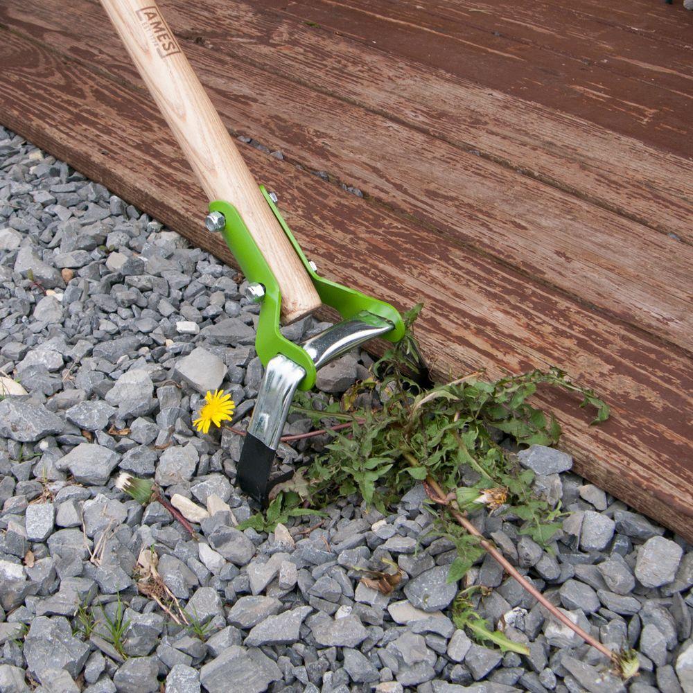 Hula Ho Garden Weeder Cultivator Stirrup Hoe 54in Wood Handle Farm Yard Tool New