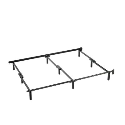 Compack Queen Black Metal Bed Frame