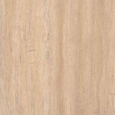 Take Home Sample - Hand Scraped Bamboo Dusk Vinyl Plank Flooring - 5 in. x 7 in.